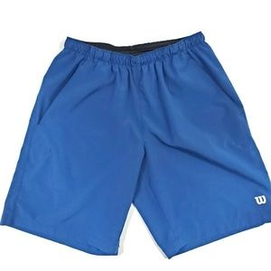 Womens Wilson Athletic Shorts with Pockets Medium